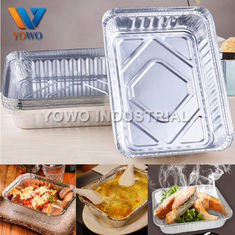 300ml 500ml Food Packaging Aluminum Foil Container